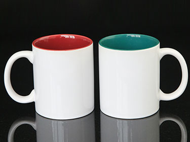 11oz wholesale blank ceramic coffee mugs sublimation cheap reusable espresso stoneware tea cups with design