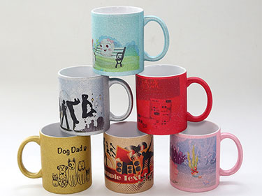 Custom fluorescent sublimation mugs for coffee china stoneware mugs manufacturers