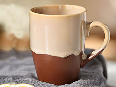 Flowing glaze handmade ceramic mugs color glazed coffee mugs suppliers